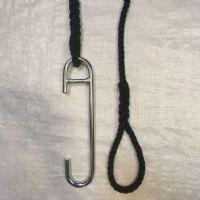 14mm Black Eye Splice & Piling Hook